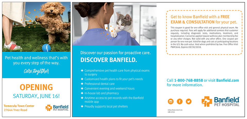 Banfield Pet Hospital opening at Temecula Town Center